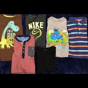 Toddler Boy Shirts x6